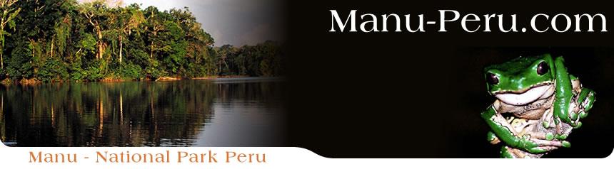 Manu National Park Map Manu National Park Peru
